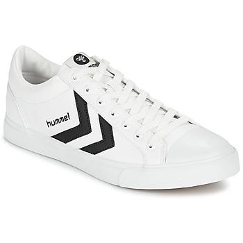 Shoes Low top trainers Hummel DEUCE COURT SPORT White