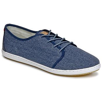 Shoes Men Low top trainers Lafeyt DERBY HEAVY CANVAS Marine