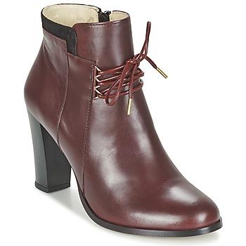 Shoes Women Shoe boots M. Moustache EMMA BORDEAUX / Black