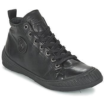 Shoes Men Hi top trainers Pataugas ROCKER/N Black