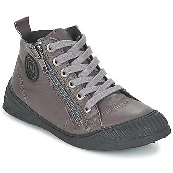 Shoes Boy Hi top trainers Pataugas ROCKET/N Grey