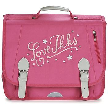 Bags Girl Satchels Ikks LOVE IKKS CARTABLE 38CM Pink