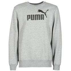 Clothing Men sweatpants Puma ESS CREW SWEAT FL Grey