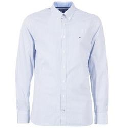 Clothing Men long-sleeved shirts Tommy Hilfiger DUNFORD STP NFC2 Blue