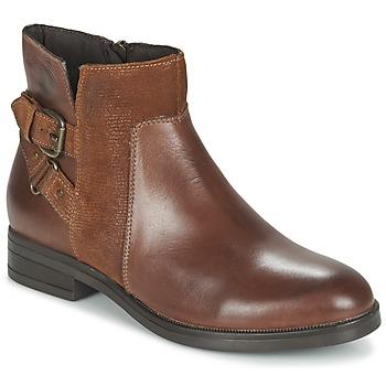 Shoes Women Mid boots Casual Attitude FERDAWA CAMEL