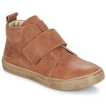 Shoes Boy Mid boots Citrouille et Compagnie FOJAMO Camel