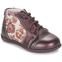 Shoes Girl Mid boots Citrouille et Compagnie FRICOL Purple
