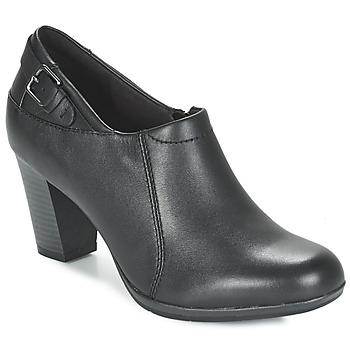 Shoes Women Shoe boots Clarks Brynn Harper  BLACK / Leather
