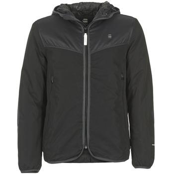 Clothing Men Jackets G-Star Raw SETSCALE HDD OVERSHIRT Black