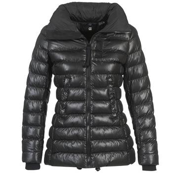 Clothing Women Duffel coats G-Star Raw WHISTLER SLIM COAT Black