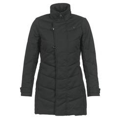 Clothing Women Parkas G-Star Raw MINOR CLASSIC QLT COAT Black