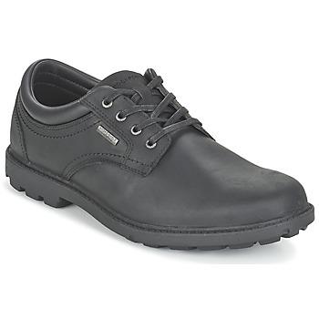Shoes Men Derby Shoes Rockport RGD BUC WP PLAINTOE Black