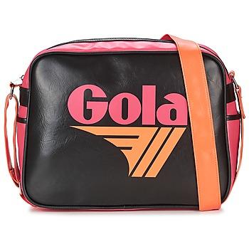 Bags Women Messenger bags Gola REDFORD Black / Fuschia / Orange
