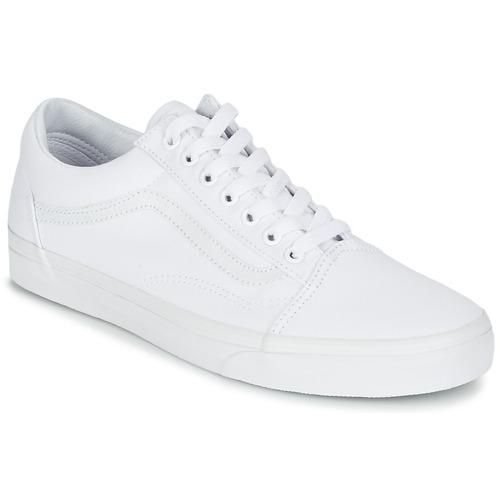 Shoes Low top trainers Vans OLD SKOOL White