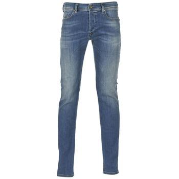 Clothing Men Skinny jeans Diesel SLEENKER Blue / 0855q