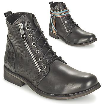 Shoes Women Mid boots Felmini BEJA Black
