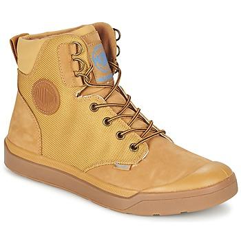 Shoes Men Mid boots Palladium PALLARUE WP HONEY