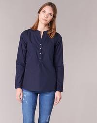 Clothing Women Shirts Casual Attitude FARANDOLE Marine