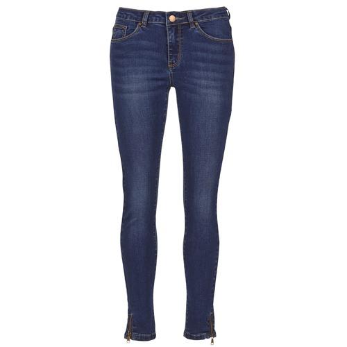 Clothing Women slim jeans Moony Mood IFABANE Blue