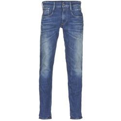 Clothing Men slim jeans Replay ANBASS Blue / Medium