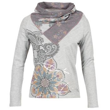 Clothing Women sweatpants Desigual CASMIBA Grey
