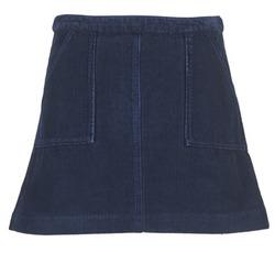 Clothing Women Skirts Kookaï BIRKIN VELOURS MARINE