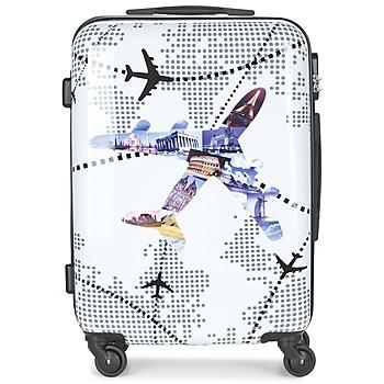 Bags Hard Suitcases David Jones OUSKILE 50L Multicoloured