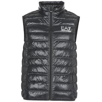 Clothing Men Duffel coats Emporio Armani EA7 ONAFRATO Black