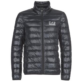 Clothing Men Duffel coats Emporio Armani EA7 JAFOUKARO Black