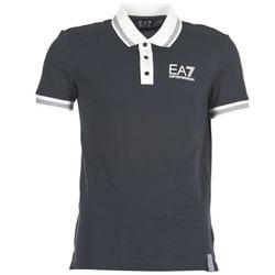 Clothing Men short-sleeved polo shirts Emporio Armani EA7 OKOLAMI MARINE