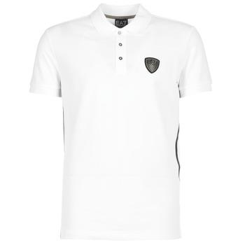 Clothing Men short-sleeved polo shirts Emporio Armani EA7 ONTRAFOL White