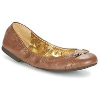 Shoes Women Flat shoes Ralph Lauren BETHENNY Cognac