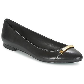 Shoes Women Flat shoes Ralph Lauren FARREL-FLATS-CASUAL Black