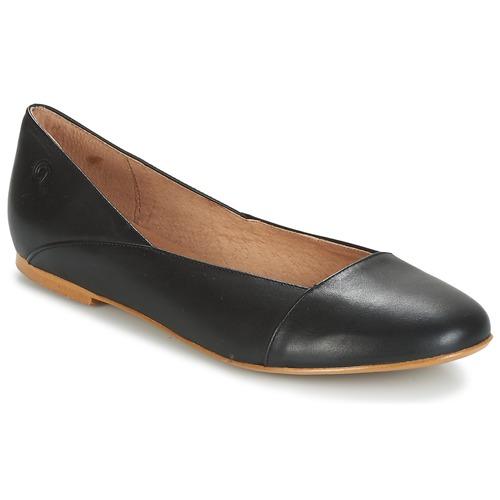 Shoes Women Flat shoes Casual Attitude TOBALO Black