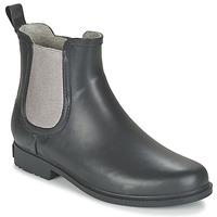 Shoes Women Mid boots Marc O'Polo LATTA Black
