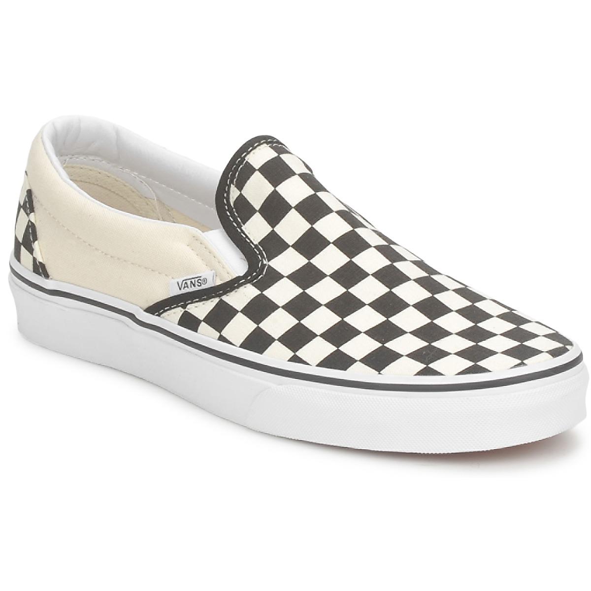 Vans CLASSIC SLIP ON Black / White