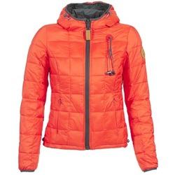 Clothing Women Duffel coats 80DB Original NICKI Grey / Red