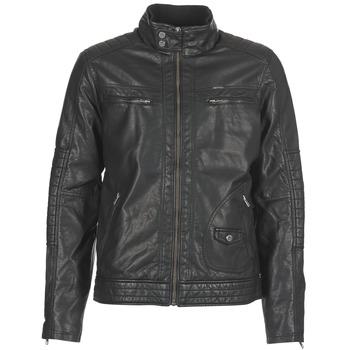 Clothing Men Leather jackets / Imitation leather Petrol Industries VESTE JAC150 Black