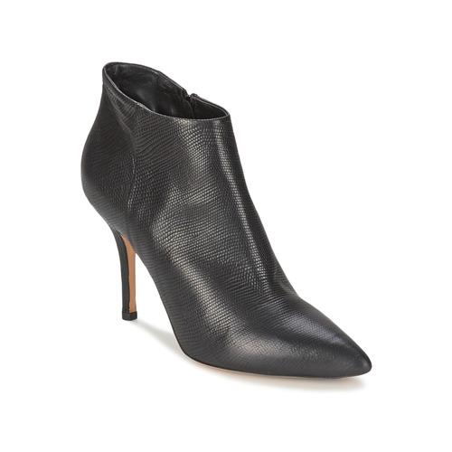 Shoes Women Shoe boots JFK LIZARD Black