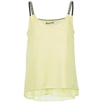 Clothing Women Tops / Sleeveless T-shirts LPB Woman BRICCOM Yellow