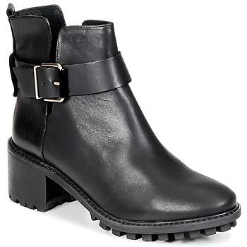 Shoes Women Ankle boots Miista GRETA Black