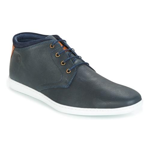 Shoes Men Hi top trainers Casual Attitude CALER Marine