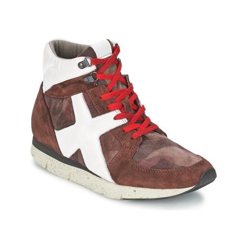 Shoes Women Hi top trainers OXS JAZZ Bordeaux