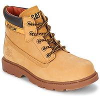 Shoes Children Mid boots Caterpillar COLORADO PLUS Honey