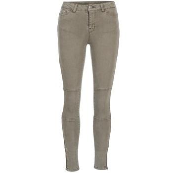 Clothing Women slim jeans Vero Moda SEVEN Taupe