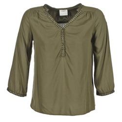 Clothing Women Tops / Blouses Vero Moda CHARLOTTE Kaki