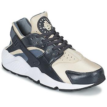 Shoes Women Low top trainers Nike AIR HUARACHE RUN W Grey / BEIGE