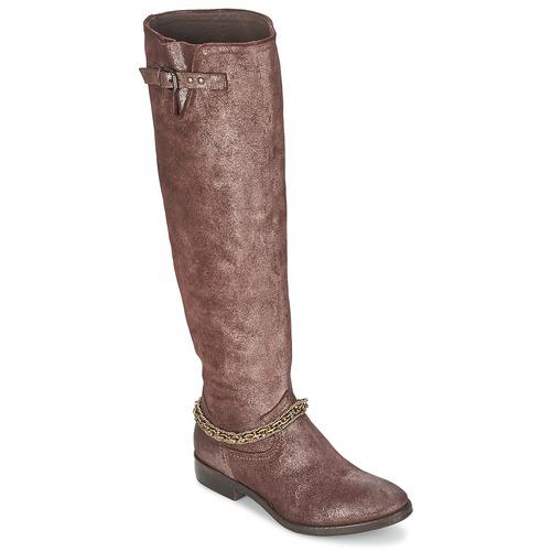 Shoes Women High boots Now JUBILEE Bronze