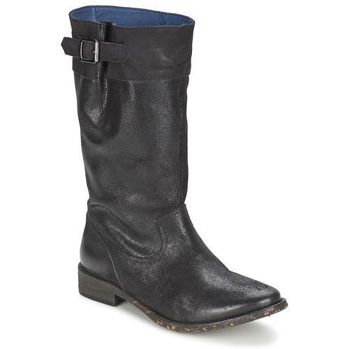 Shoes Women High boots Schmoove SANDINISTA BOOTS Black / Metal