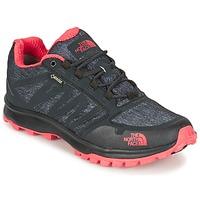 Shoes Women Walking shoes The North Face LITEWAVE FASTPACK GORETEX Black / CORAL